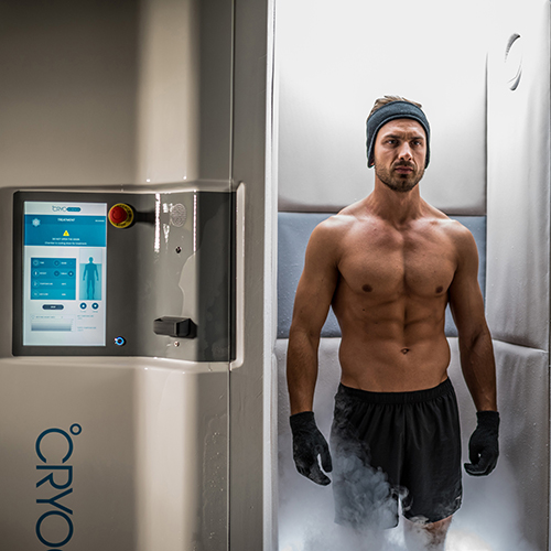 Cryotherapy Chamber Mobile