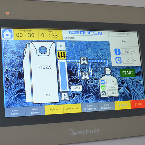 Cryotherapy Controller Mobile